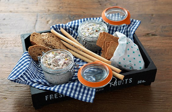 Duo of Potted Dips