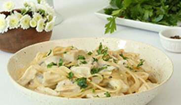Whole Grain Pasta with Chicken and Béchamel